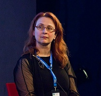 Audrey Niffenegger - photo credit Edinburgh International Book Festival